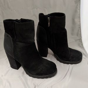Sam Edelman black Franklin ankle boot. Sz 6.5